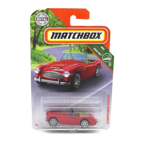 Austin Healey Roadster 1963 1/64 Matchbox MBX Road Trip