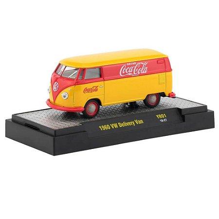 Volkswagen Kombi Delivery Van 1960 Coca Cola 1/64 M2 Machines 52500 Release YR01