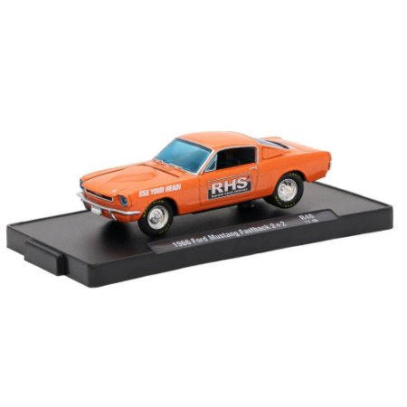 Ford Mustang Fastback 1966 RHS 1/64 M2 Machines Auto Drivers 11228 Release 46