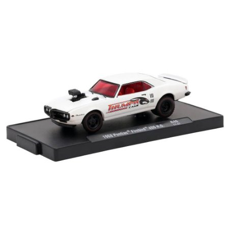 Pontiac Firebird 400 H.O. 1968 Thumpr Cams 1/64 M2 Machines Auto Drivers 11228 Release 46