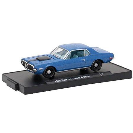Mercury Cougar R-Code 1968 1/64 M2 Machines Auto Drivers 11228 Release 47