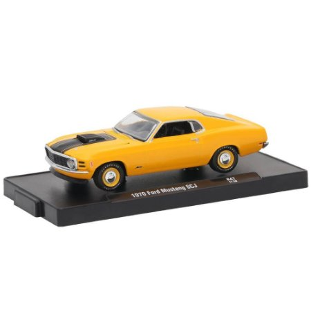 Ford Mustang SCJ 1970 1/64 M2 Machines Auto Drivers 11228 Release 47