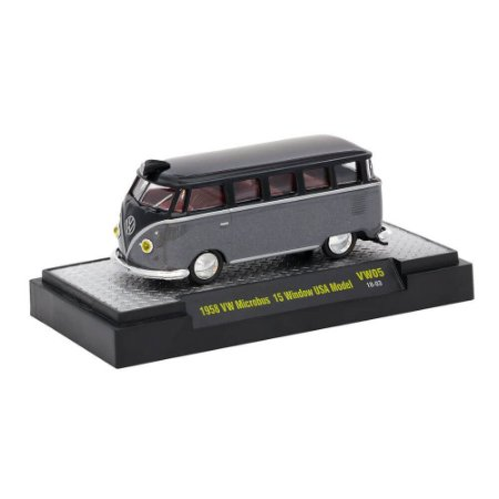Volkswagen Kombi Microbus 15 Window USA Model 1958 1/64 M2 Machines Auto Thentics 32500 Release VW05