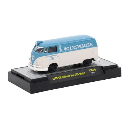 Volkswagen Kombi Delivery USA Model 1960 1/64 M2 Machines Auto Thentics 32500 Release VW05