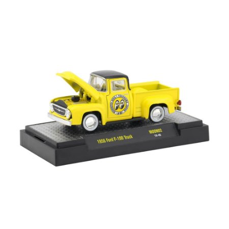 Ford F-100 Truck 1956 1/64 M2 Machines Moon 32500 Release MOON02