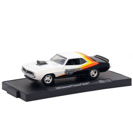 Chevrolet Camaro SS/RS 1969 Competition Cams 1/64 M2 Machines Auto Drivers 11228 Release 51