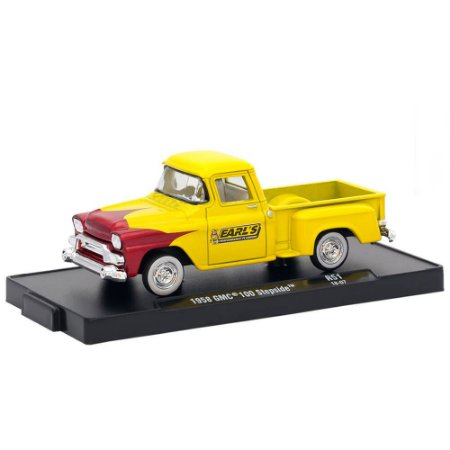 GMC 100 Stepside 1958 Earl's 1/64 M2 Machines Auto Drivers 11228 Release 51