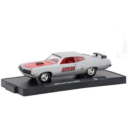Ford Torino Cobra 1970 FAST 1/64 M2 Machines Auto Drivers 11228 Release 48