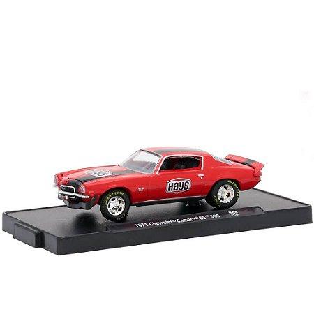 Chevrolet Camaro SS 396 1971 Hays 1/64 M2 Machines Auto Drivers 11228 Release 48