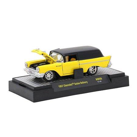 Chevrolet Sedan Delivery 1957 1/64 M2 Machines Auto Mods 32600 Release AM06