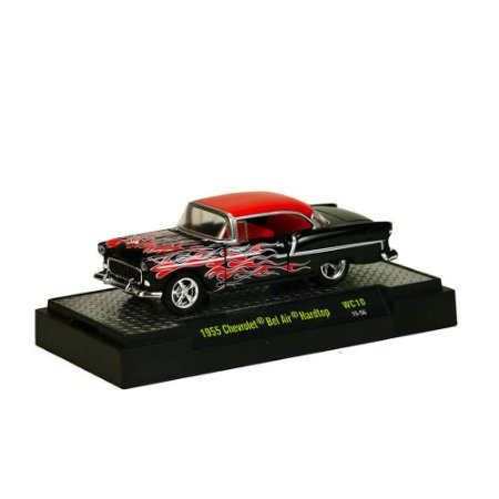 Chevrolet Bel Air Hardtop 1955 1/64 M2 Machines Auto Vault 32500 Release WC10