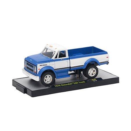 Caminhão Chevrolet C60 Truck 1970 1/64 M2 Machines Auto Trucks 32500 Release 48