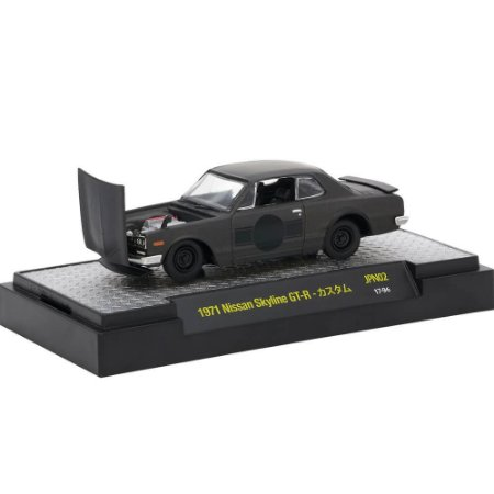 Nissan Skyline GT-R 1971 1/64 M2 Machines Auto Japan 32500 Release JPN02