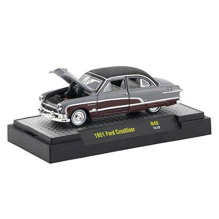 Ford Crestliner 1951 1/64 M2 Machines Auto Thentics 32500 Release 49
