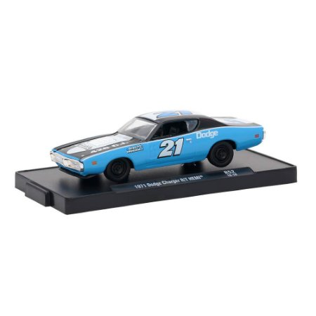 Dodge Charger R/T HEMI 1971 Direct Connection 1/64 M2 Machines Auto Drivers 11228 Release 52