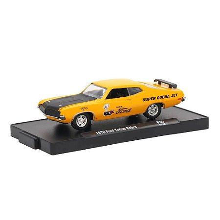 Ford Torino Cobra 1970 1/64 M2 Machines Auto Drivers 11228 Release 50