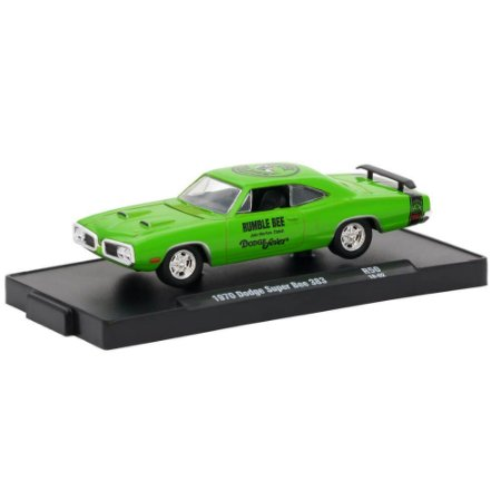 Dodge Super Bee 383 1970 1/64 M2 Machines Auto Drivers 11228 Release 50