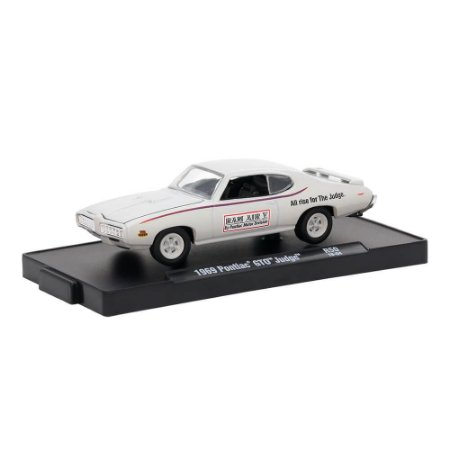 Pontiac GTO Judge 1969 The Judge 1/64 M2 Machines Auto Drivers 11228 Release 50