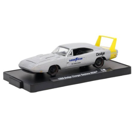 Dodge Charger Daytona HEMI 1969 Goodyear 1/64 M2 Machines Auto Drivers 11228 Release 45