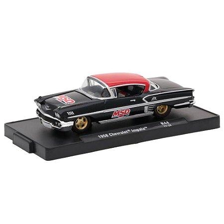 Chevrolet Impala 1958 MSD 1/64 M2 Machines Auto Drivers 11228 Release 44