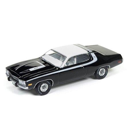 Plymouth Road Runner 1974 1/64 Auto World Vintage Muscle Premium Series 2017 Release 3 Versão B