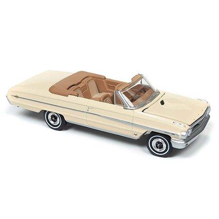 Ford Galaxie 500XL Conversível 1964 1/64 Auto World Vintage Muscle Premium Series Release 1 Versão B