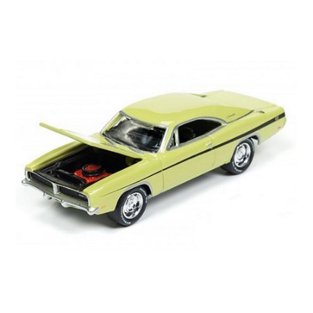 Dodge Charger R/T 1969 Dirty Mary Crazy Larry Fuga Alucinada 1/64 Johnny Lightning Muscle Cars USA 2017 Series Release 3