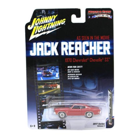 Chevrolet Chevelle SS 70 Jack Reacher 1/64 Johnny Lightning