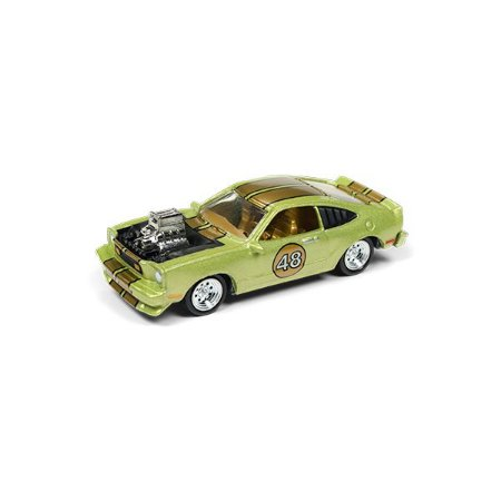 Ford Mustang II Cobra 1976 The Spoilers 1/64 Johnny Lightning Street Freaks 2018 Series Release 1 Versão A