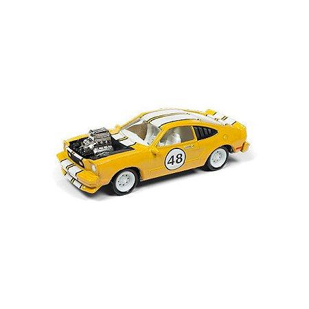 Ford Mustang II Cobra 1976 The Spoilers 1/64 Johnny Lightning Street Freaks 2018 Series Release 1 Versão B