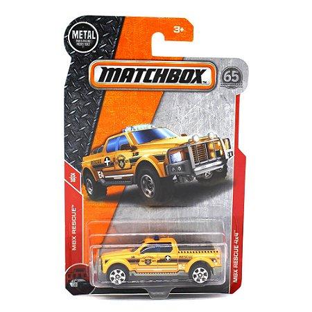 Emergency Rescue 4x4 1/64 Matchbox MBX Rescue