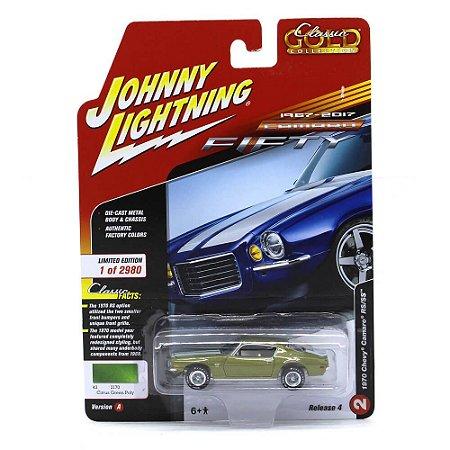 Camaro RSSS 1970 1/64 Johnny Lightning Classic Gold 2017 4 A