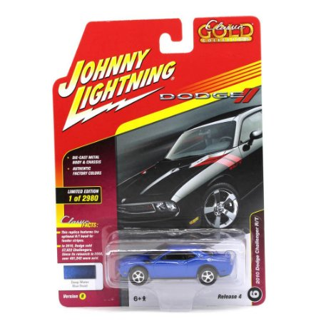 Challenger RT 10 1/64 Johnny Lightning Classic Gold 2017 4 B