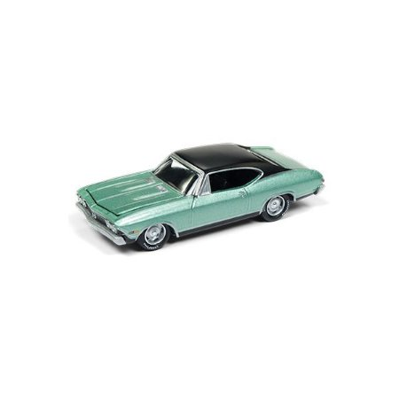 Chevrolet Chevelle SS 1968 1/64 Johnny Lightning Classic Gold Collection 2018 Release 1 Versão A