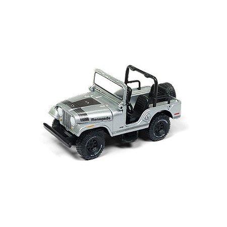 Jeep CJ-5 1/64 Johnny Lightning Classic Gold Collection 2018 Release 1 Versão B