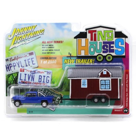 Dodge Ram 1500 1996 1/64 Johnny Lightning Tiny Houses Release 2
