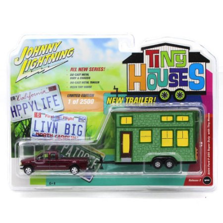 Ford F-250 Super Duty 2004 1/64 Johnny Lightning Tiny Houses Release 2