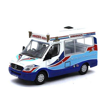 Mercedes Benz Sprint Dimascios Whitby Mondial Ice Cream Van 1/76 Oxford Commercials