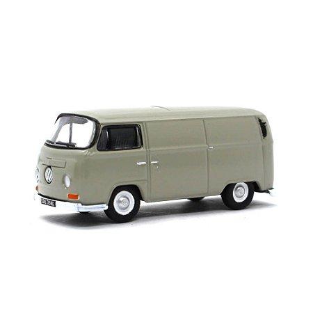 Volkswagen Kombi Bay Window Van Light Grey 1/76 Oxford Commercials