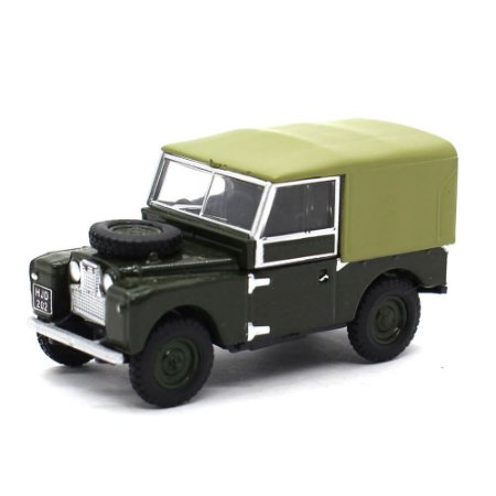 Land Rover Series 1 88 Canvas Verde Bronze 1/76 Oxford Commercials