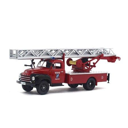 Caminhão de Bombeiros Opel Blitz Feuerwehr 1952-1960 1/43 Ixo Opel Collection