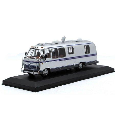 Airstream Excella 280 Turbo Motorhome Camper 1981 1/43 Sammlermodell Hachette