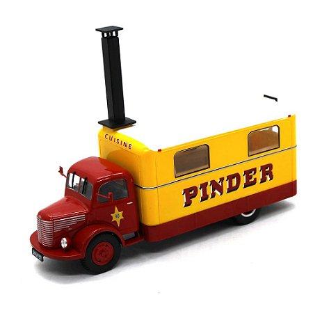 Caminhão Unic ZU 51 Kitchen Truck Pinder Circus 1952 1/43 Direkt Collections