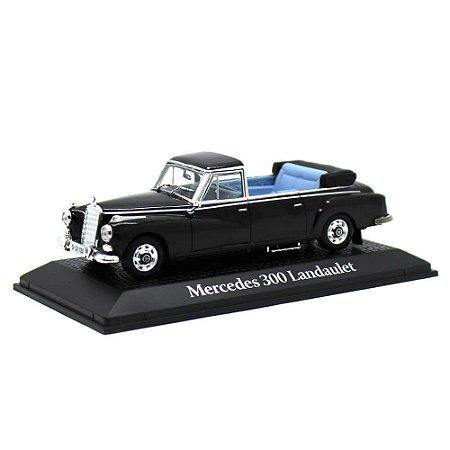 Mercedes Benz 300D Landaulet Type W189 Presidente Konrad Adenauer Alemanha 1963 1/43 Norev Atlas