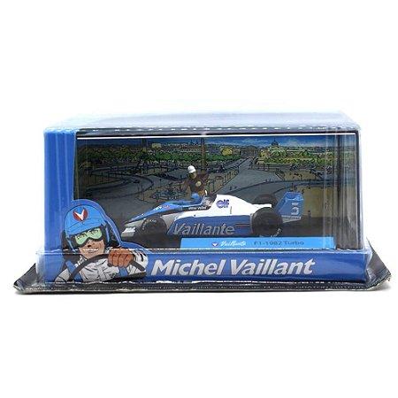 F1 1982 Turbo Vaillante Michel Vaillant 1/43 Ixo Altaya