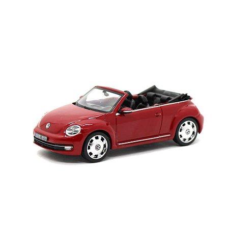 Volkswagen Novo Fusca 2013 Cabriolet Conversível 1/43 Schuco
