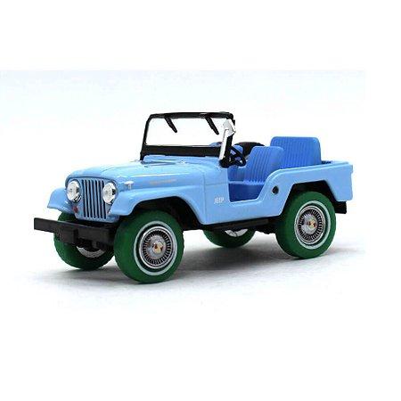 GREEN MACHINE Jeep CJ5 1965 Elvis Presley 1/43 Greenlight