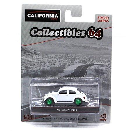 GREEN MACHINE Volkswagen Fusca 1/64 Greenlight California Collectibles 64