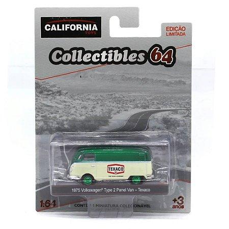 GREEN MACHINE Volkswagen Kombi Type 2 Panel Van Texaco 1/64 Greenlight California Collectibles 64