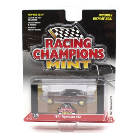 CHASE GOLD Plymouth GTX 1971 1/64 Racing Champions Mint 2016 Series